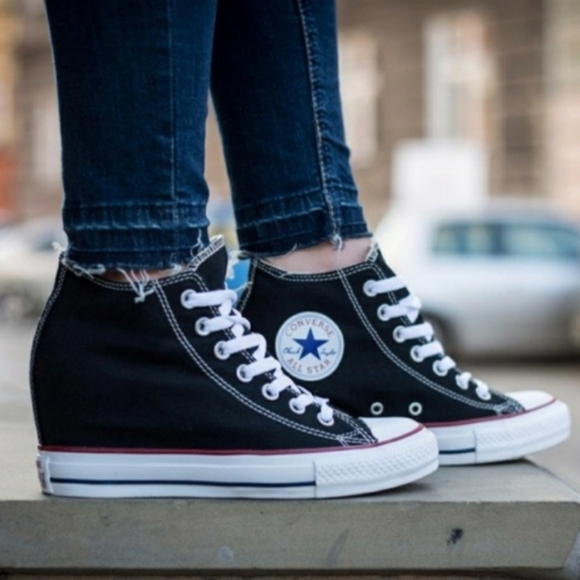 Chuck Taylor Lux Mid Wedge Sneakers